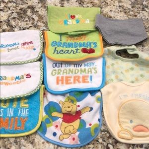 🧸 5 for $20 Lot of 10 new without tag bibs⭐️